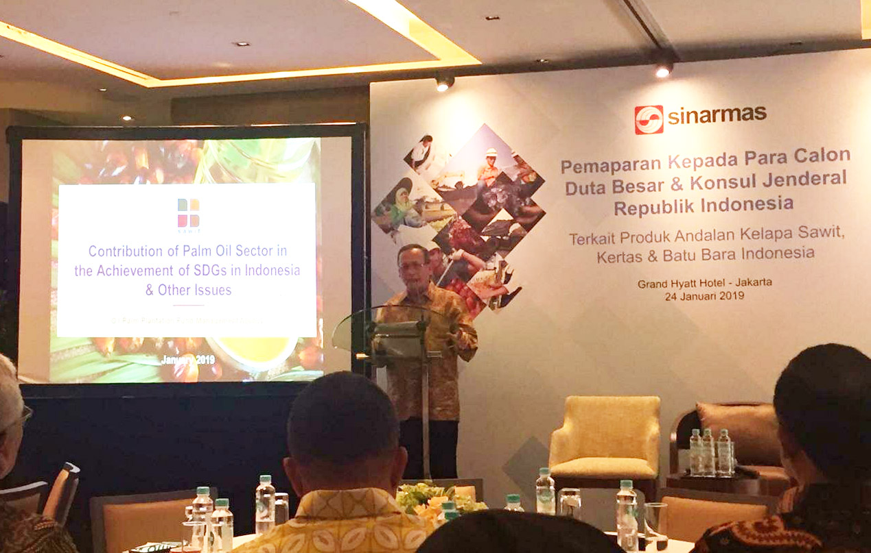 Indonesian Ambassador Candidates Briefed about Palm Oil