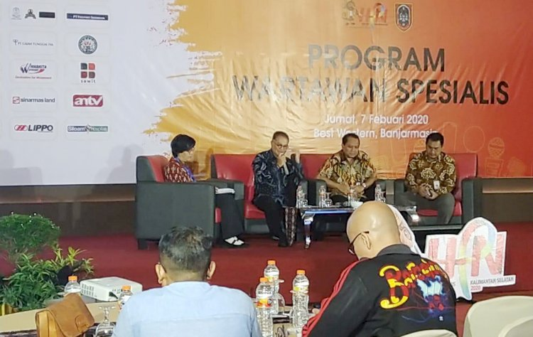 PWI Luncurkan Wartawan Spesialis, Sektor Sawit Bisa Menjadi Pilihan