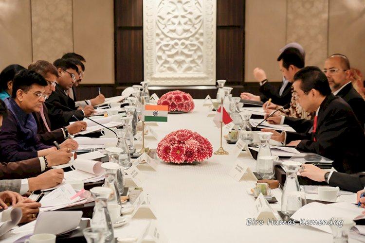 Indonesia-India Bahas Hambatan Perdagangan Sawit