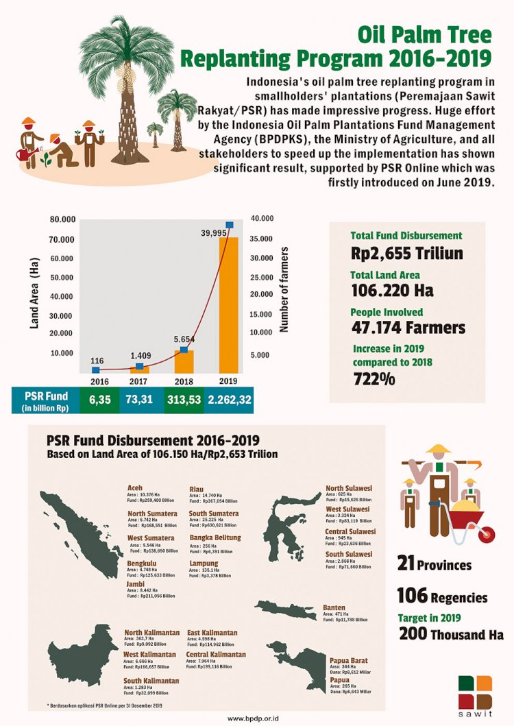Oil Palm Tree Replanting Program 2016-2019