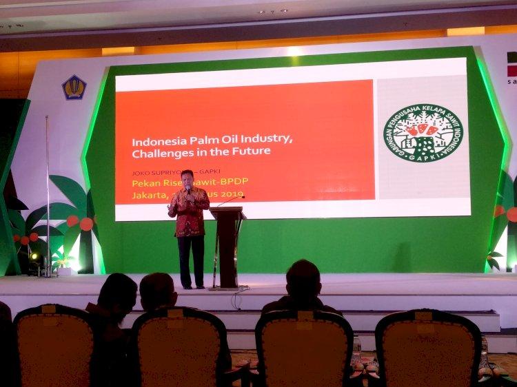Ketua Umum Gabungan Pengusaha Kelapa Sawit Indonesia (Gapki) Joko Supriyono.