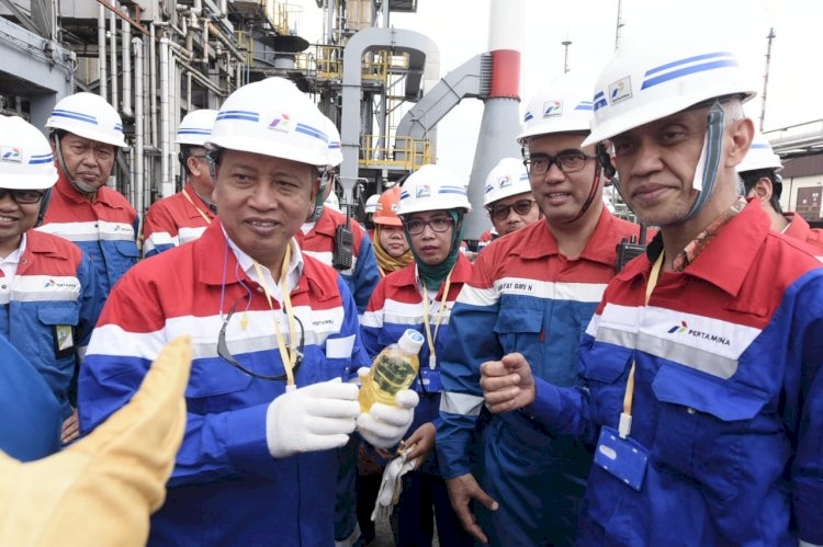 Dumai Refinery Successfully Produces Green Diesel from Palm Oil