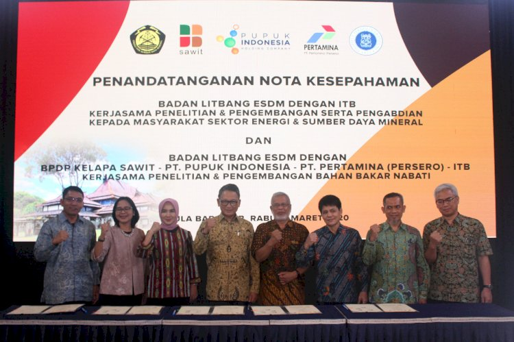 BPDPKS Signs MoU on Research and Development on Biofuel