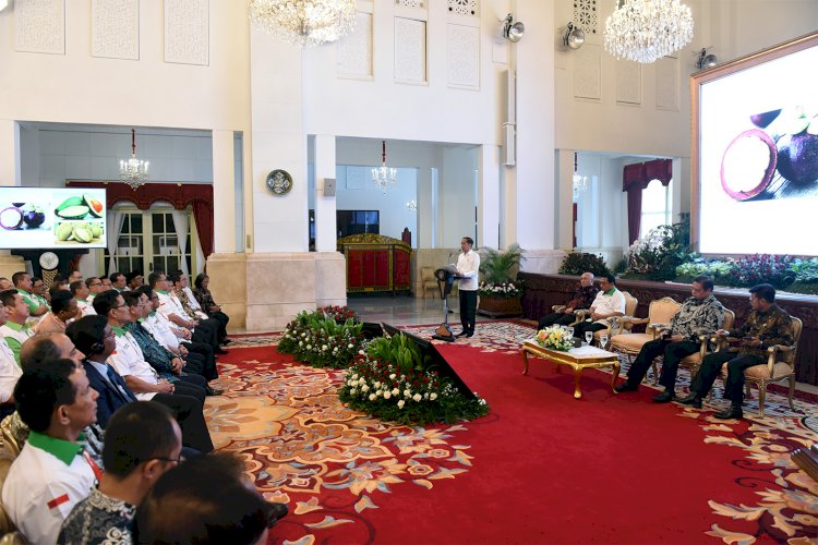 President Urges Agricultural Development at Upstream and Downstream Level