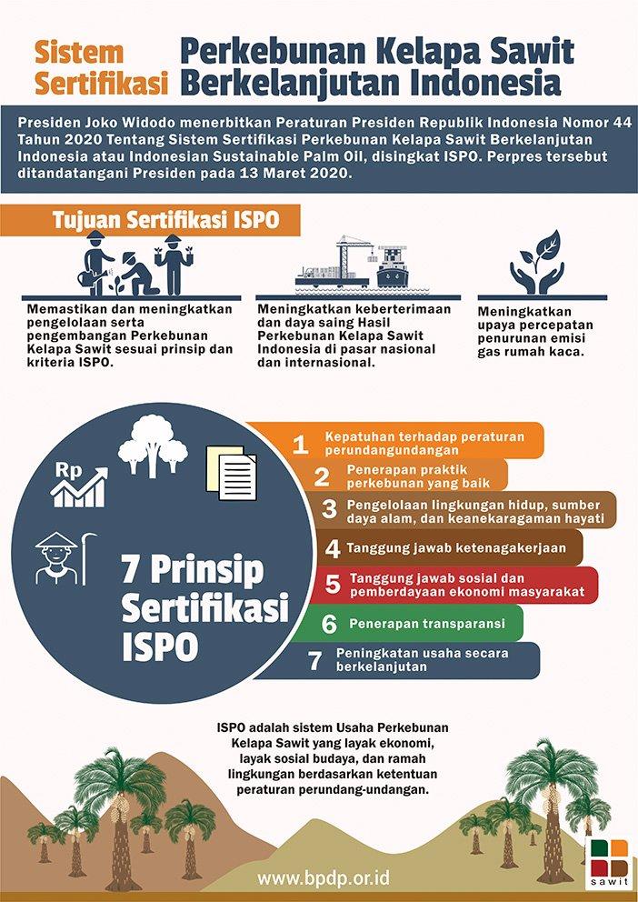 Sistem Sertifikasi Perkebunan Kelapa Sawit Berkelanjutan Indonesia