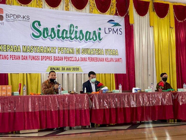 BPDPKS Bersama Anggota Komisi XI DPR Gelar Dialog dengan Petani Sawit
