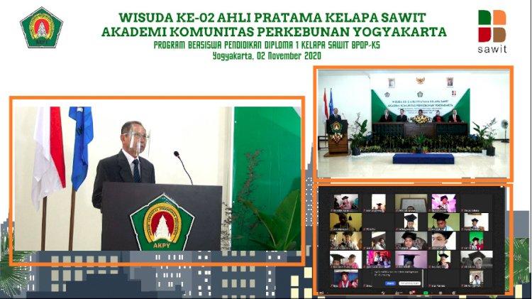 298 Mahasiswa AKPY-Stiper Diwisuda menjadi Ahli Pratama Kelapa Sawit