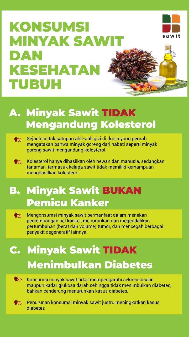 Konsumsi Minyak Sawit dan Kesehatan Tubuh