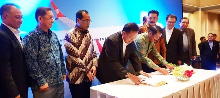 Dirut BPDPKS Saksikan Penandatanganan MoU Bioavtur Lion Air