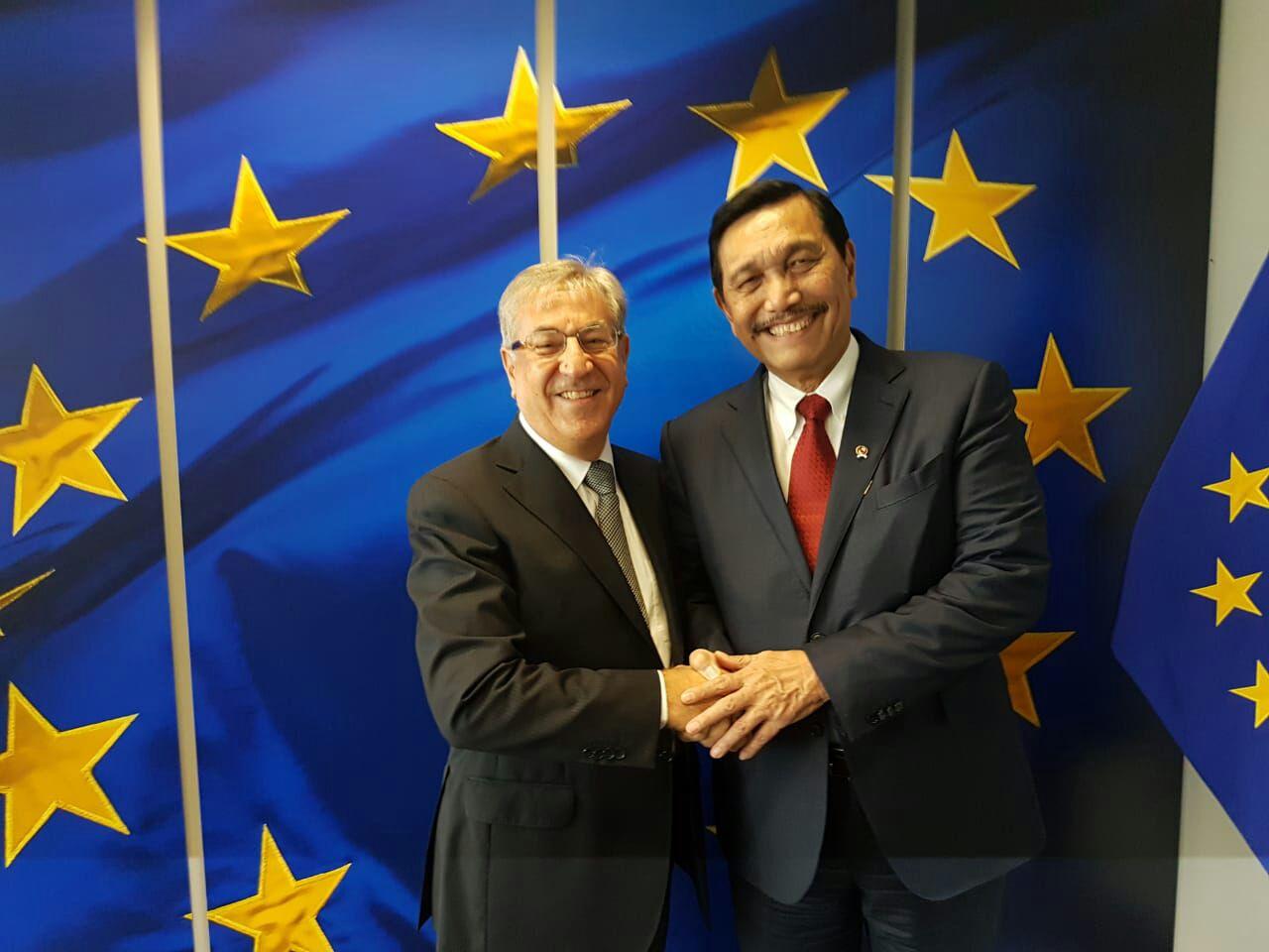 Uni Eropa Janji Tindaklanjuti Keberatan Indonesia