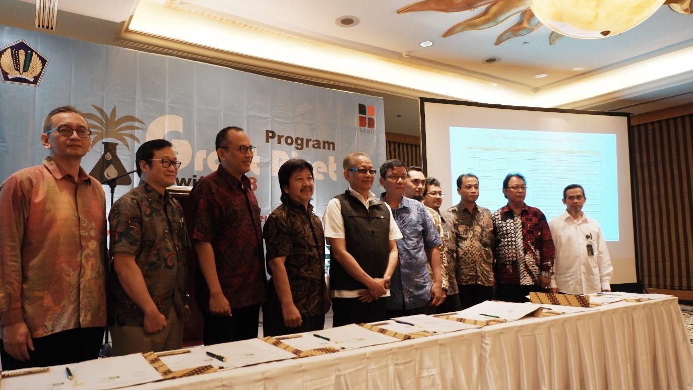 BPDPKS Tandatangani 36 Perjanjian Pendanaan Penelitian dan Pengembangan Sawit