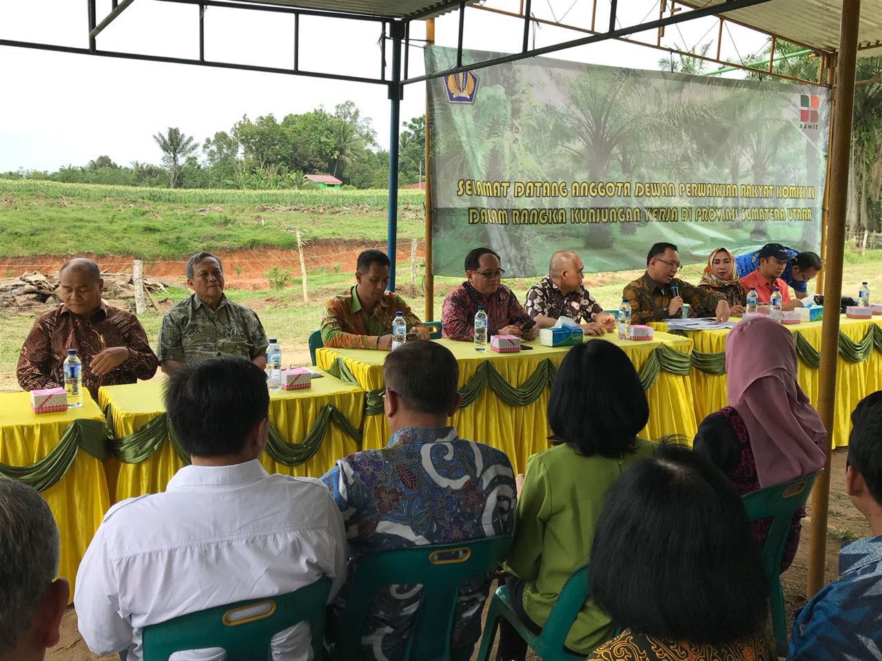 House Members Met Smallholder Oil Palm Farmers in Serdang Bedagai