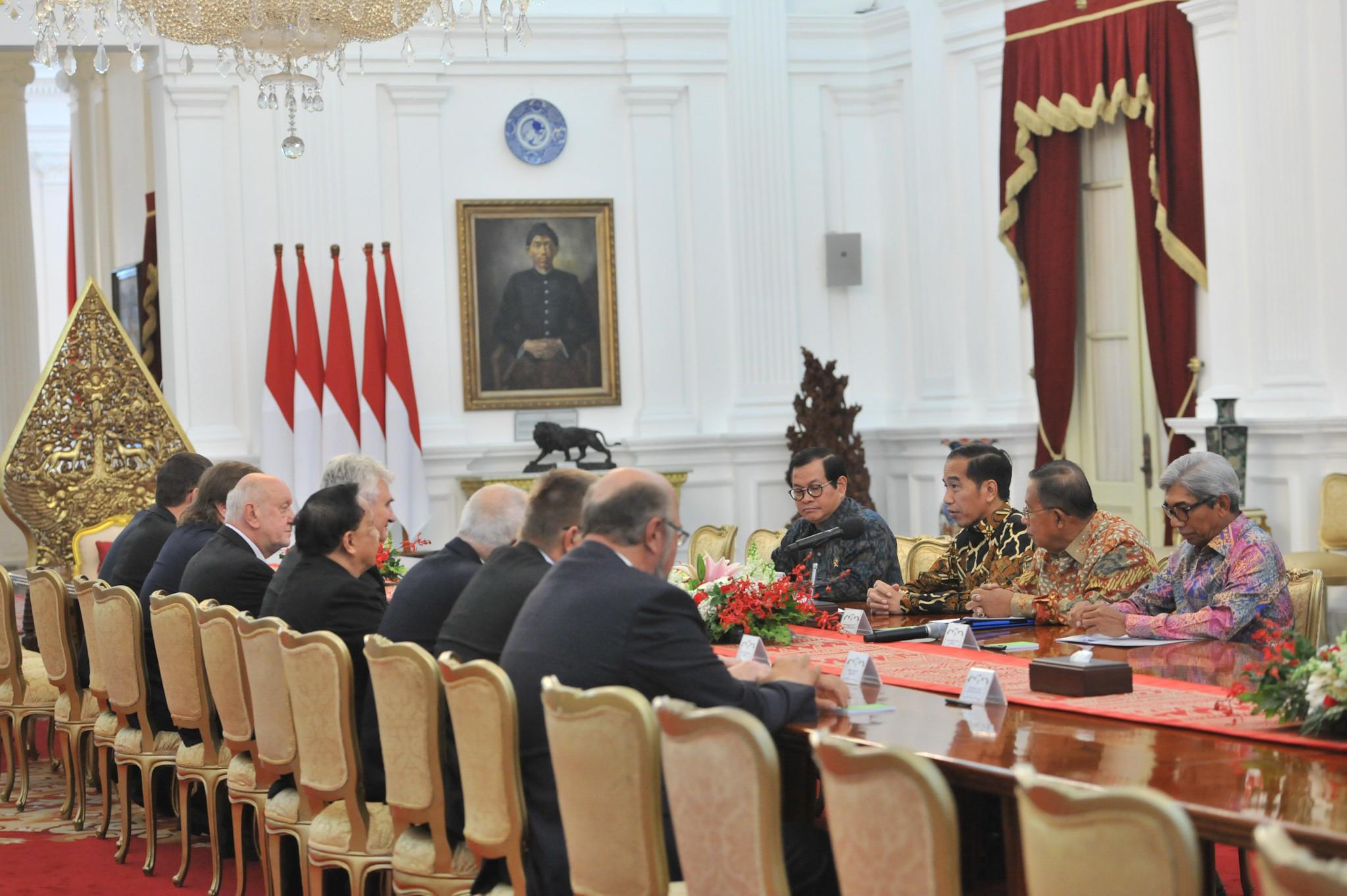 Presiden Minta Senat Republik Ceko Dukung Sawit RI