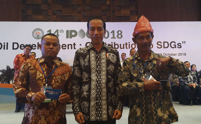 Petani Sawit Riau dan Sumsel Raih Penghargaan Paling Berprestasi