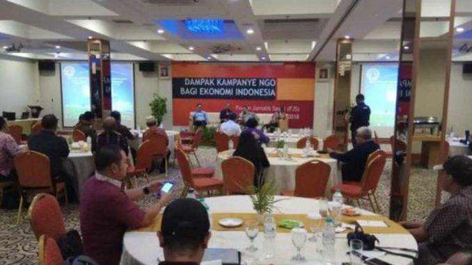 Black Campaign on Palm Oil Disrupt Economic Stability