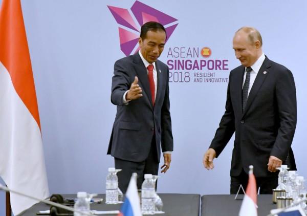 Jokowi Ajak Putin Dukung Sawit Indonesia
