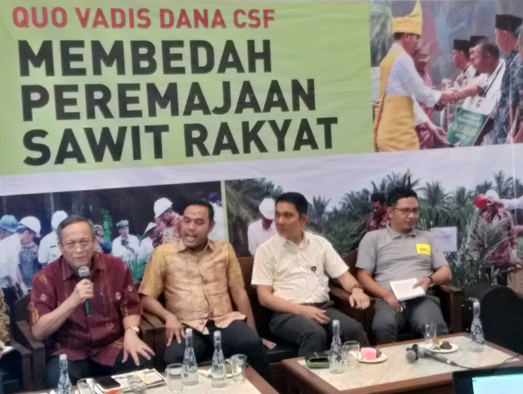 Replanting is the Key to Improve Livelihood of Oil Palm Smallholders