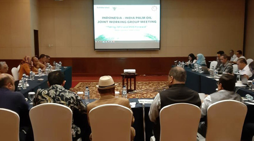 Indonesia-India Working Group Discuss Implementation of Sustainable Palm Oil
