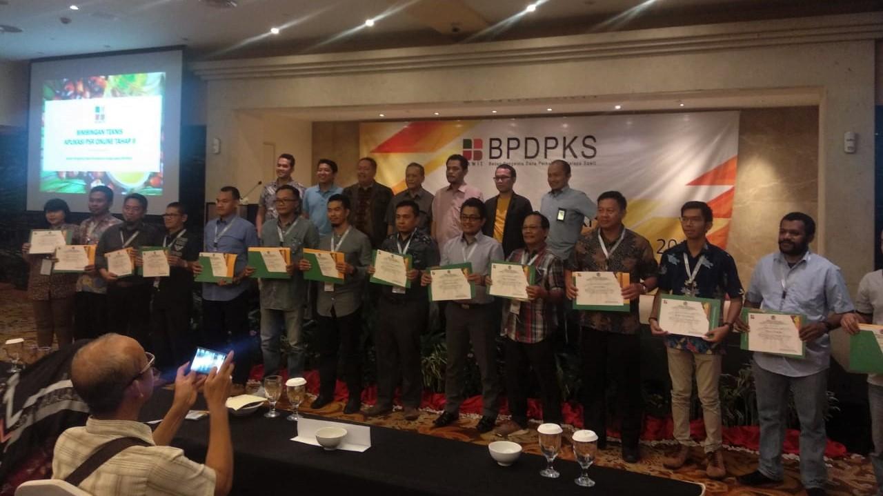 BPDPKS Holds Training on Online Application for Oil Palm Replanting