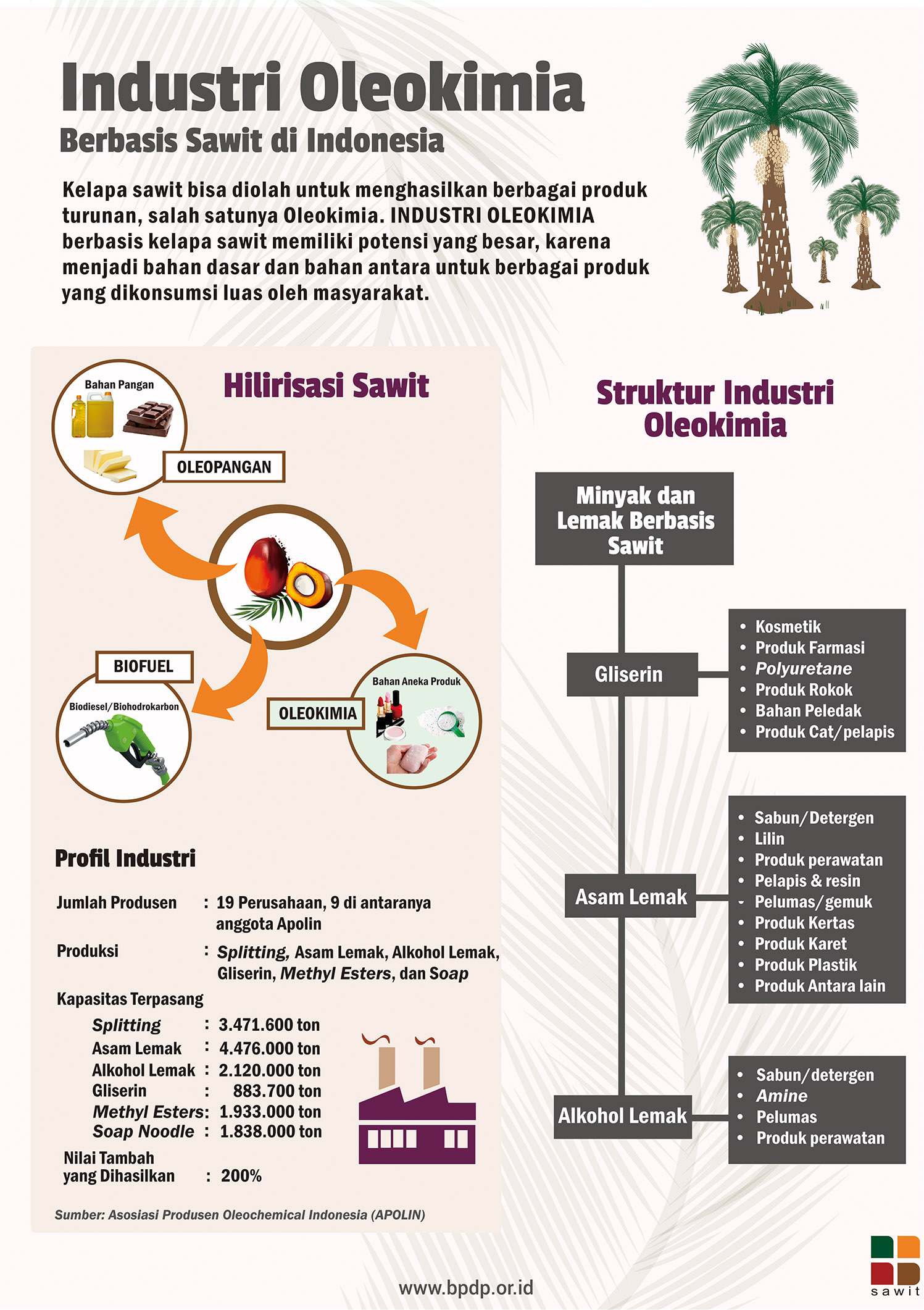 Industri Oleokimia Di Indonesia