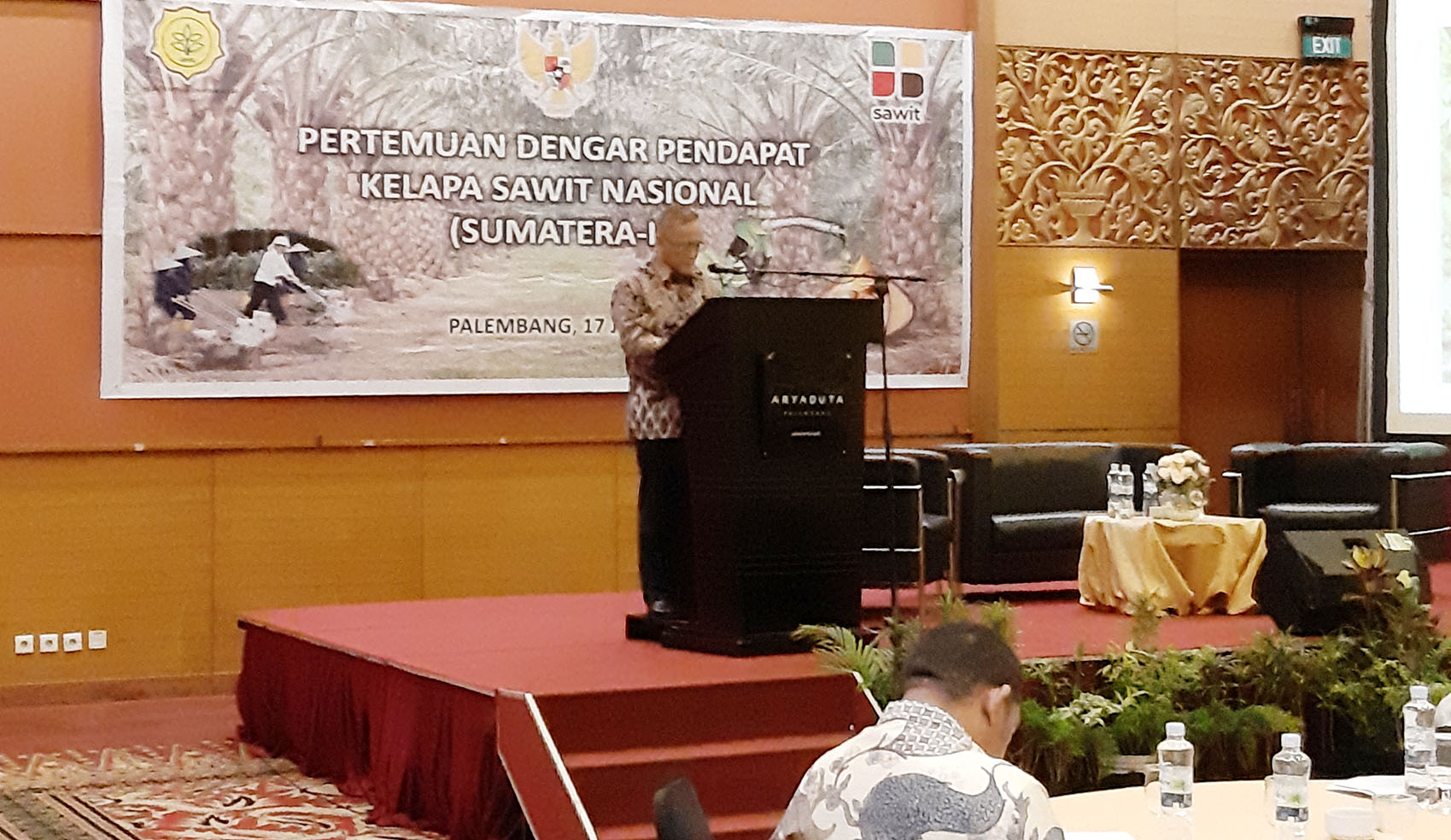 Hearing Session Held on Roadmap for National Palm Oil