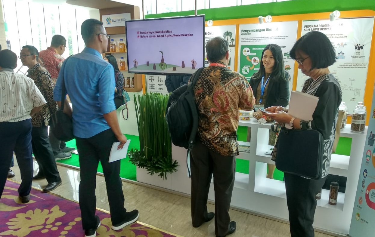 BPDPKS Exhibits Research on Palm Oil
