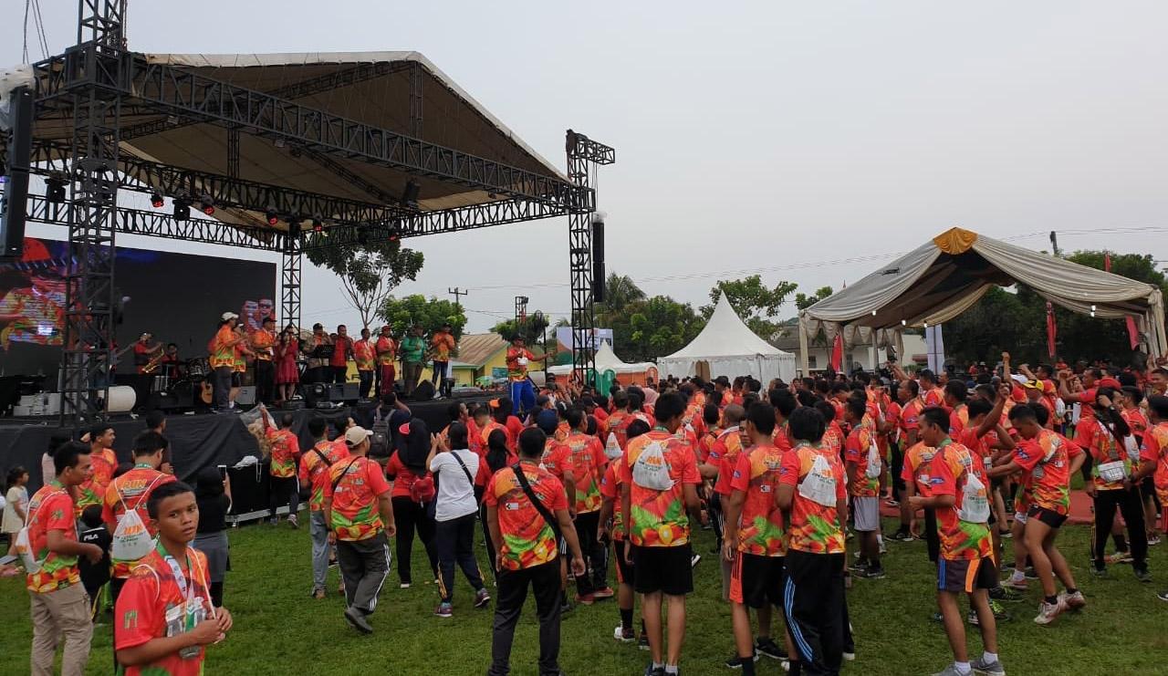 Thousands Attend Marathon Across Oil Palm Plantations